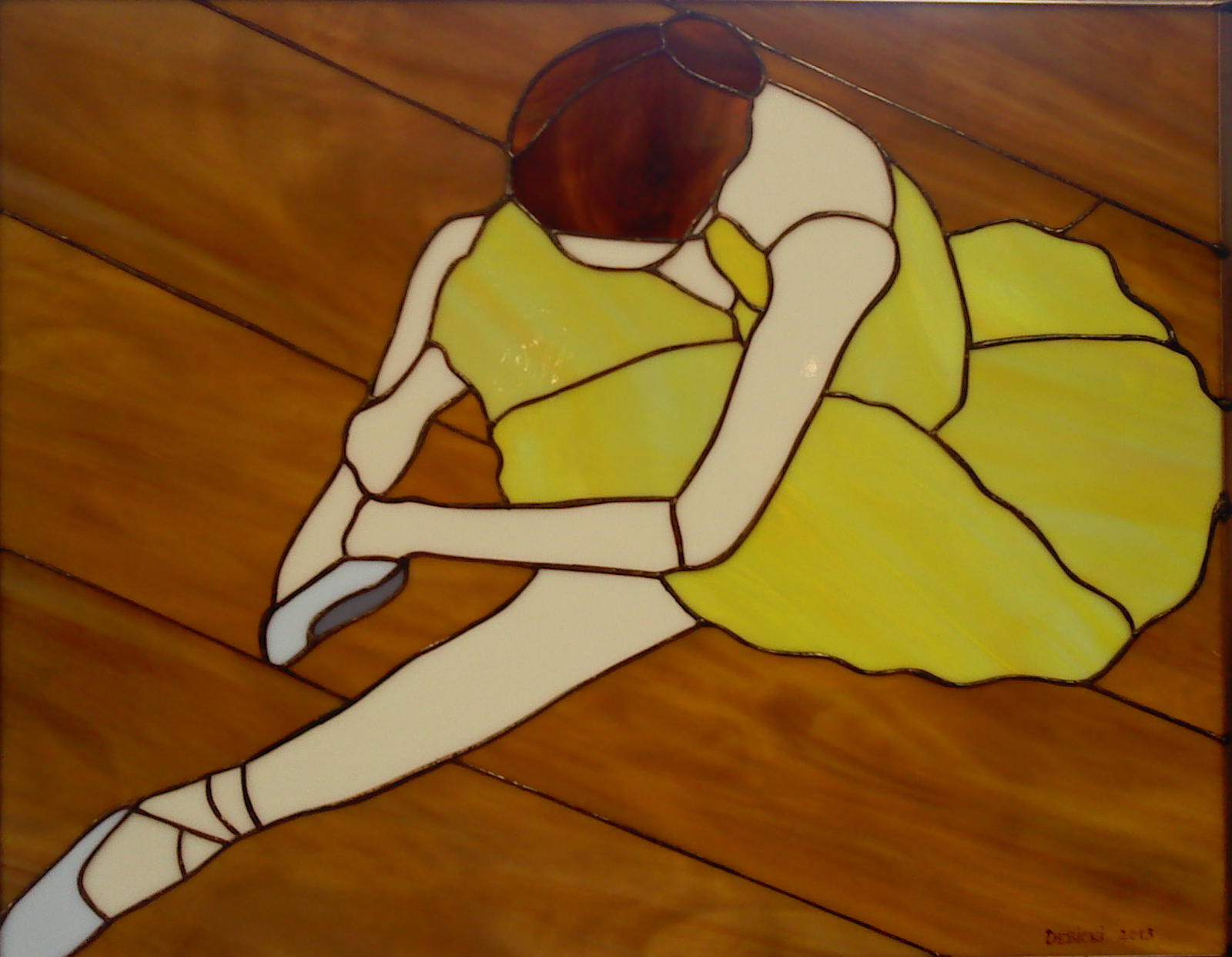 Ballerina Stained Glass Patterns