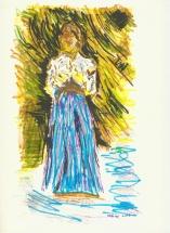 2016-08-29 Blue Skirt